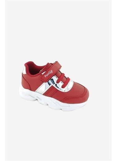 Necix's Funny Bebek Cırtcıtlı Spor Ayakkabı-Siyah Funny Bebek Cırtcıtlı Spor Ayakkabı-Siyah Kırmızı